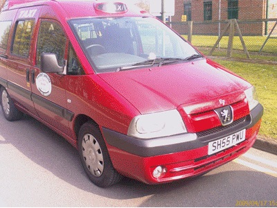 Picture of 7-seater taxi